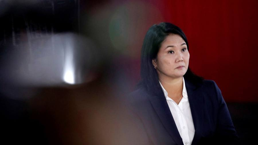 Peru's Fujimori cries fraud as election hangs in the balance