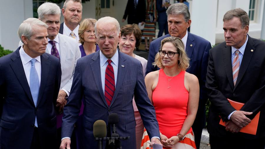 Biden has agreed with senators to cut $ 1 billion in infrastructure