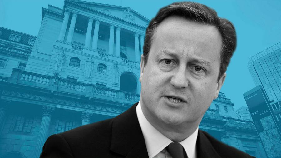 Cameron has admitted mistakes when he breaks Greensill's silence