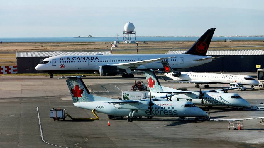 Air Canada has agreed on a billion-dollar government support package