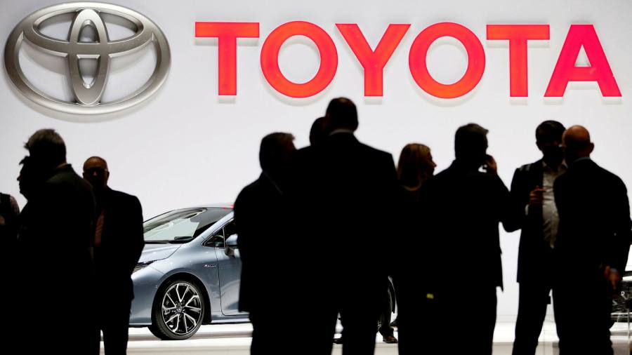 Toyota expects return to pre-pandemic sales this year