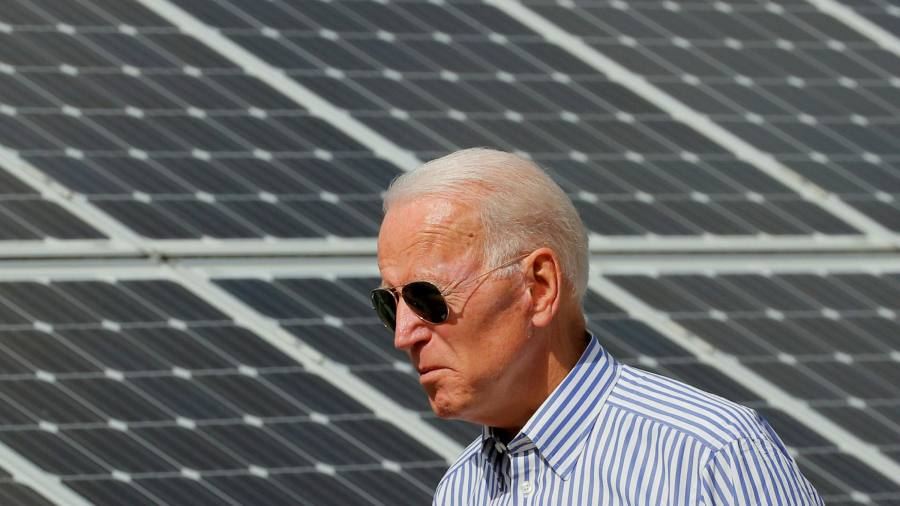 Biden throws the weight of the U.S. government behind clean energy
