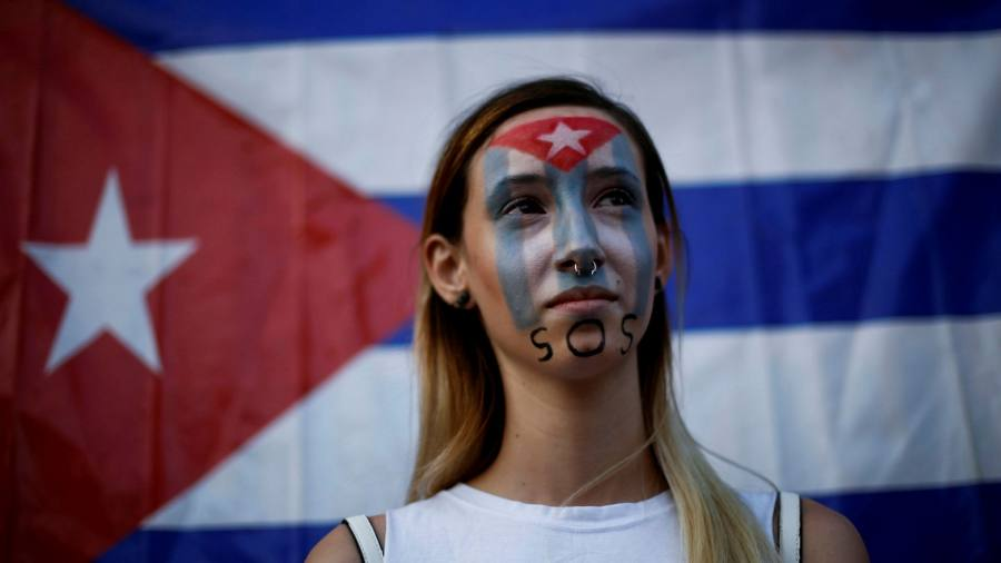 Cuba blocks internet in attempt to quell protests