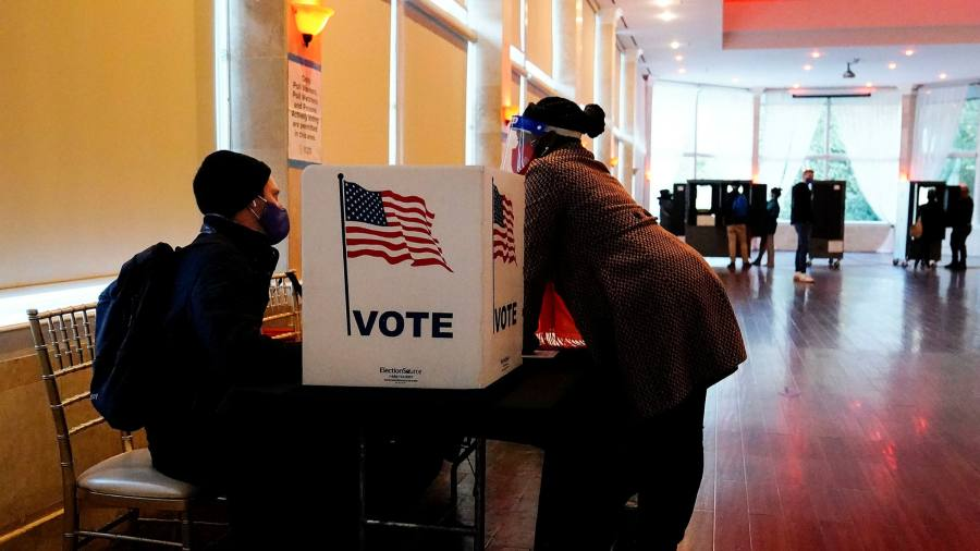 U.S. CEOs are discussing a coordinated response to voting laws