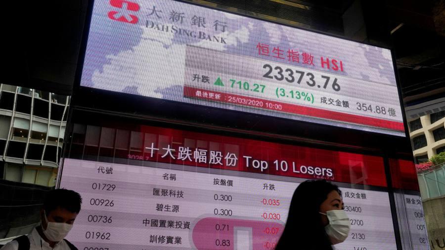 Global stocks rise as lockdown easing boosts sentiment