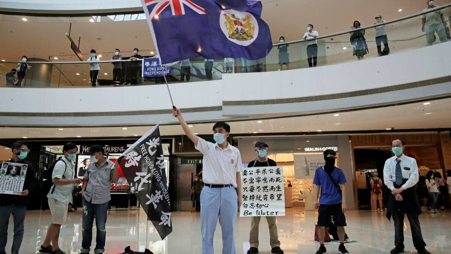 China hits back at UK criticism of Hong Kong security law