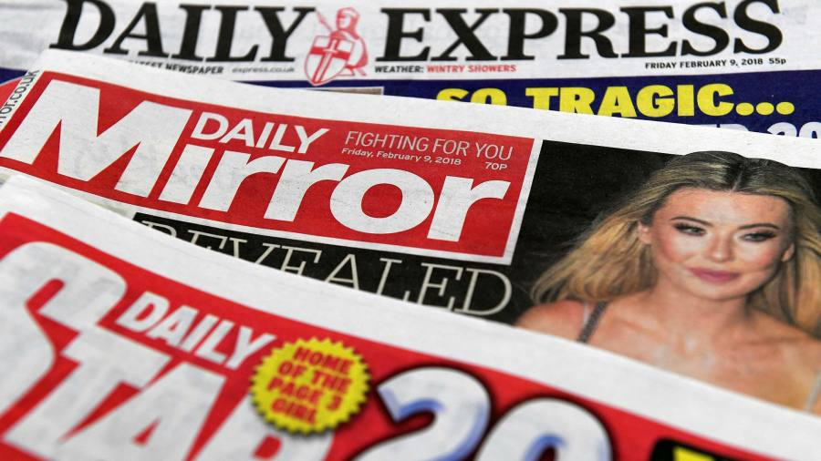 UK newspaper publisher Reach to cut 550 jobs