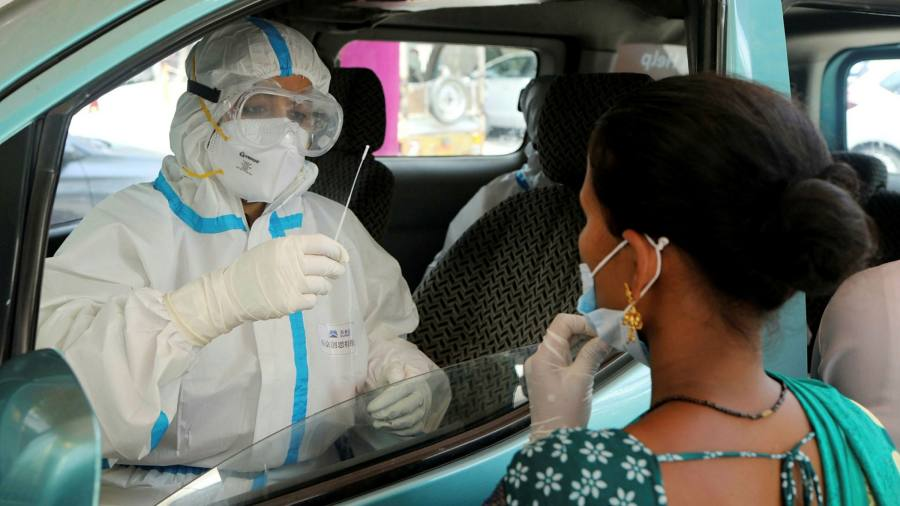 India hits 10m Covid cases as tough measures fail to halt spread