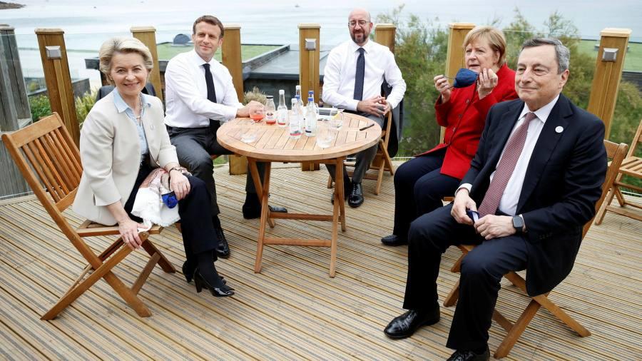 EU leaders to pressure Boris Johnson on Northern Ireland in the G7