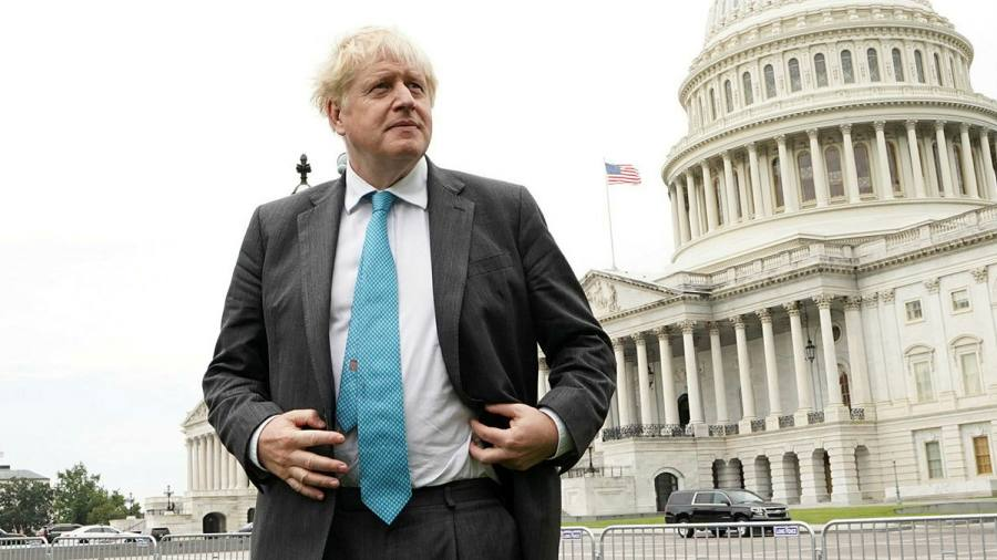 Boris Johnson dismisses French anger over Aukus defence pact