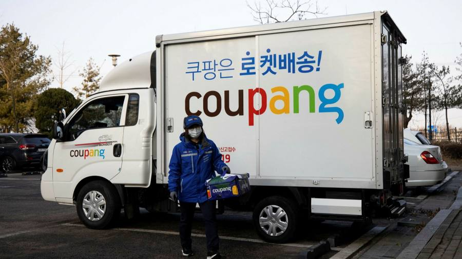 Photo of SoftBank-backed Coupang quarterly losses fell 180%