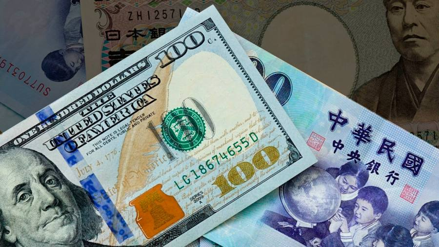 The Taiwan dollar has fallen with the US set to apply the currency manipulator label