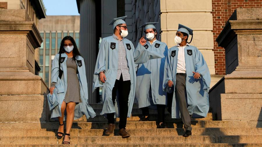 Uncertainty looms for foreign students in US graduating in pandemic