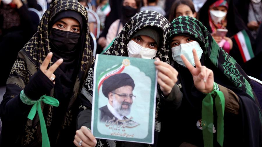 Raisi victory secures control for Iran's hardliners
