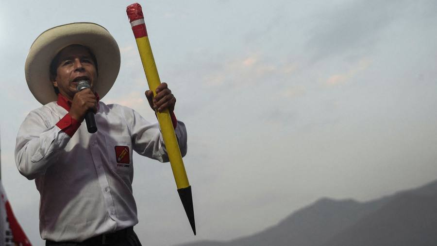 The hat and the pencil: who is Peru's president in waiting?