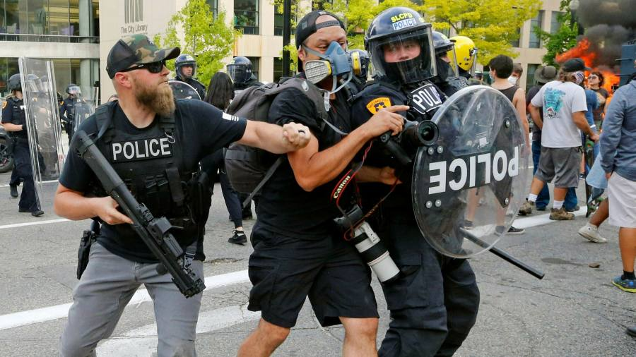 Journalists caught in the crossfire of US protests