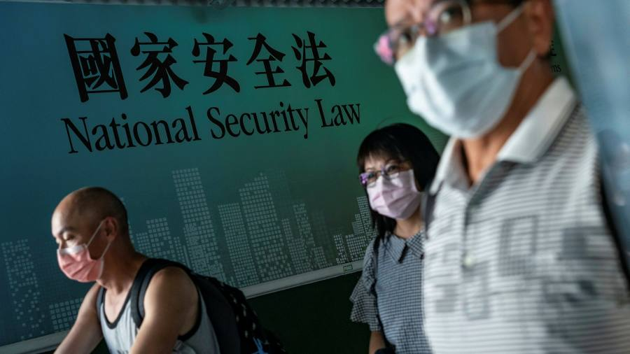 China draws global condemnation for new Hong Kong security law