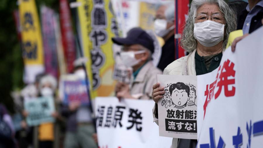 Release of Japan-contaminated Fukushima plant water to the Pacific