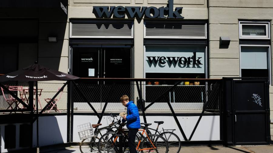 Wework ipo financial times
