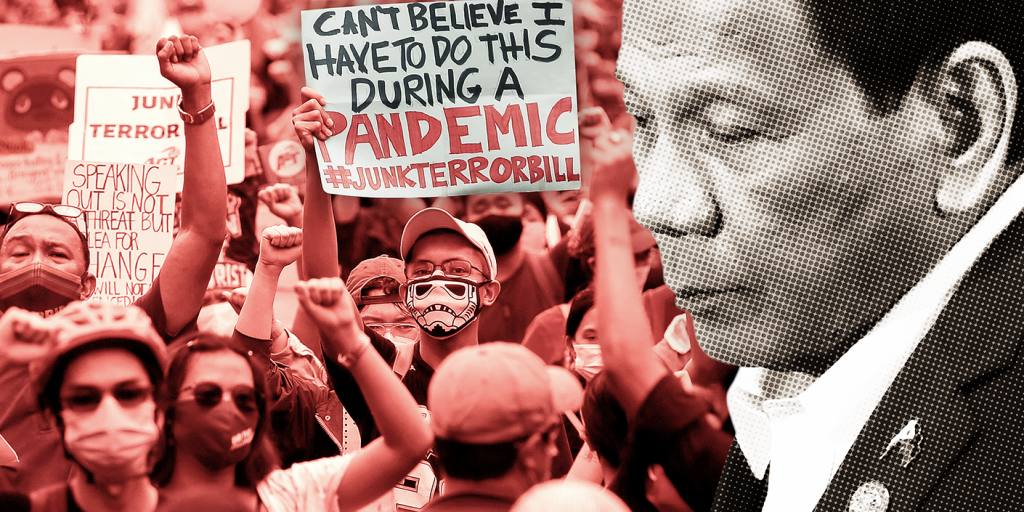 asia.nikkei.com: Duterte's strongman popularity at risk from COVID-19 recession