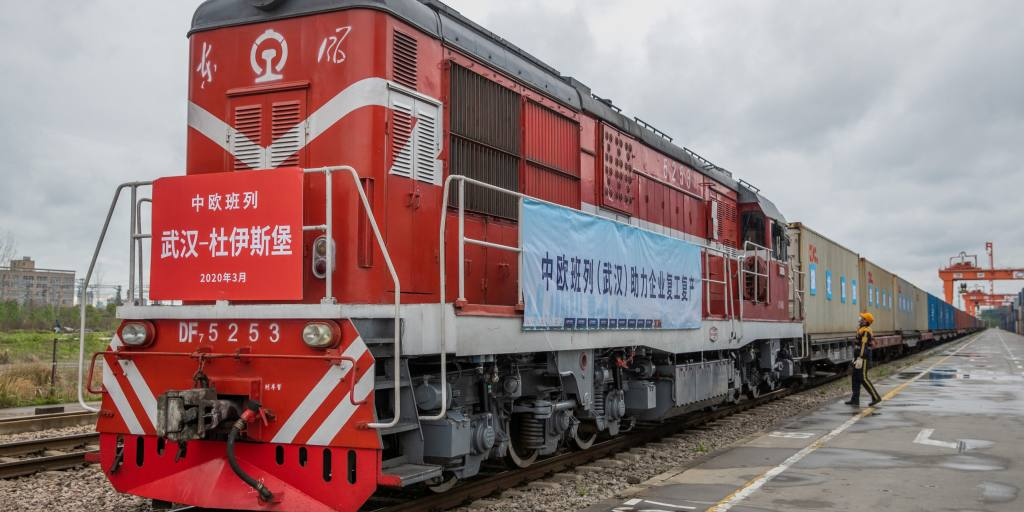 Shippers turn to Belt and Road trains to beat coronavirus lockdowns