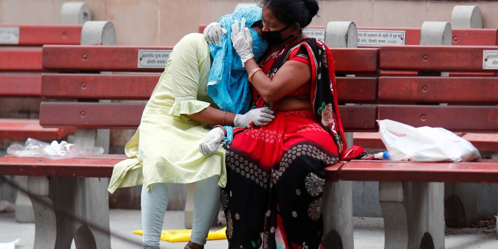 Coronavirus latest: India sets daily death and infection records