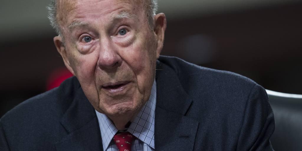 asia.nikkei.com: George Shultz, US secretary of state serving Reagan, dies at 100