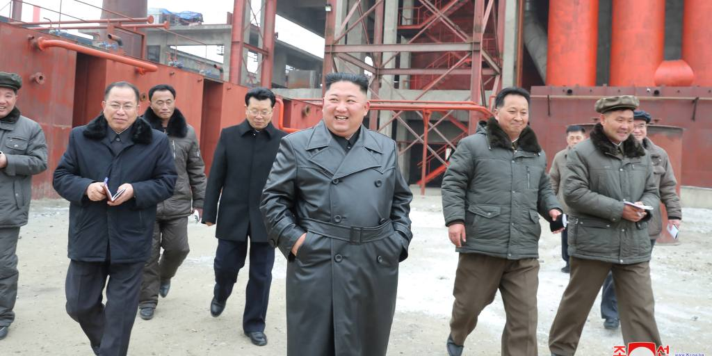 Kim drives home message with fertilizer plant reemergence