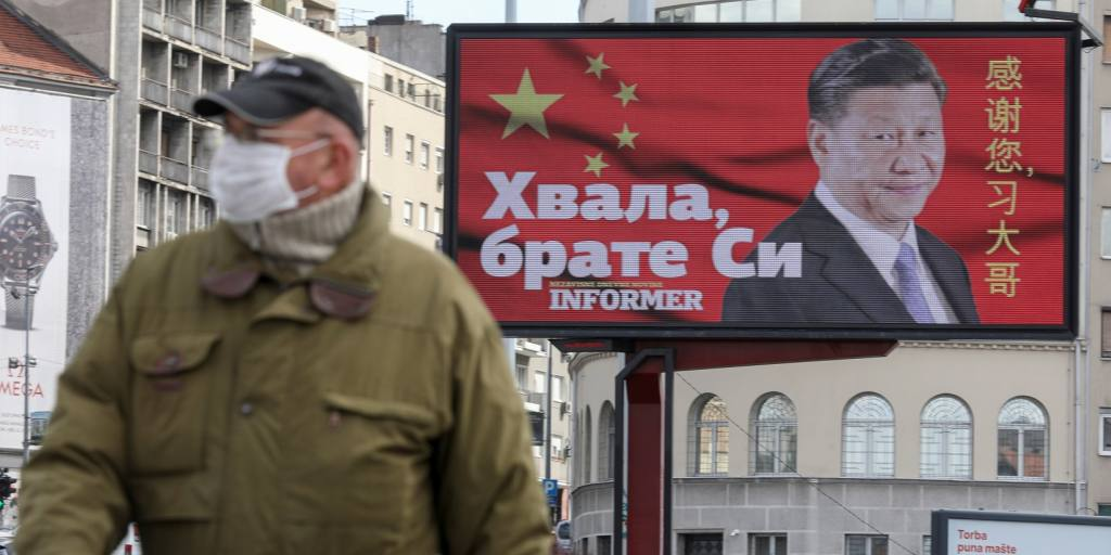 EU battles to fend off China's 'mask diplomacy' in Balkans