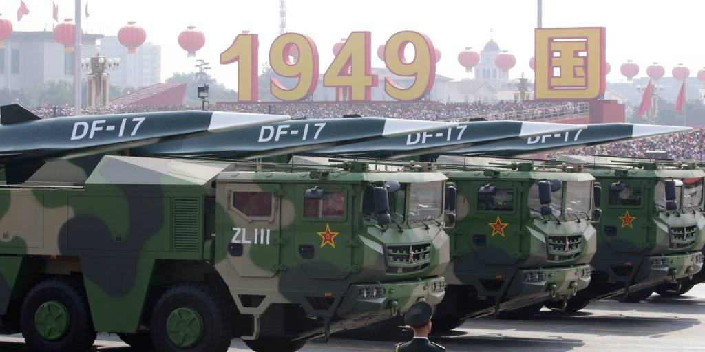 China presses on with defense buildup as US tensions grow
