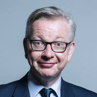 Portrait of Michael Gove MP