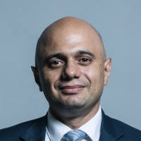 Portrait of Sajid Javid MP