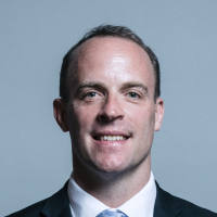 Portrait of Dominic Raab MP