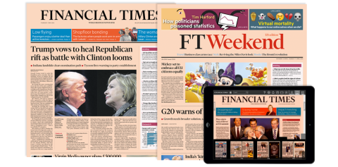 Today's Newspaper | Financial Times