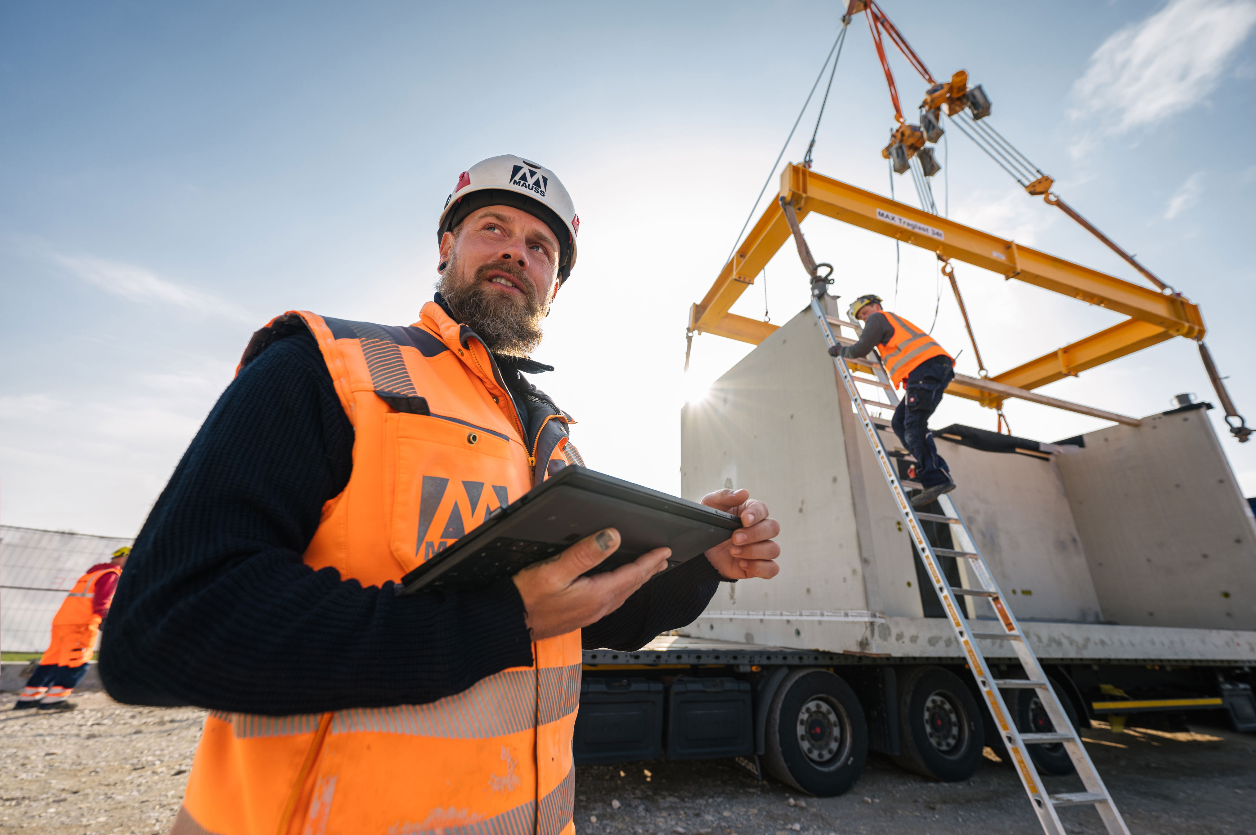 Love at first site: German firm MAUSS Bau is using new technologies to transform construction