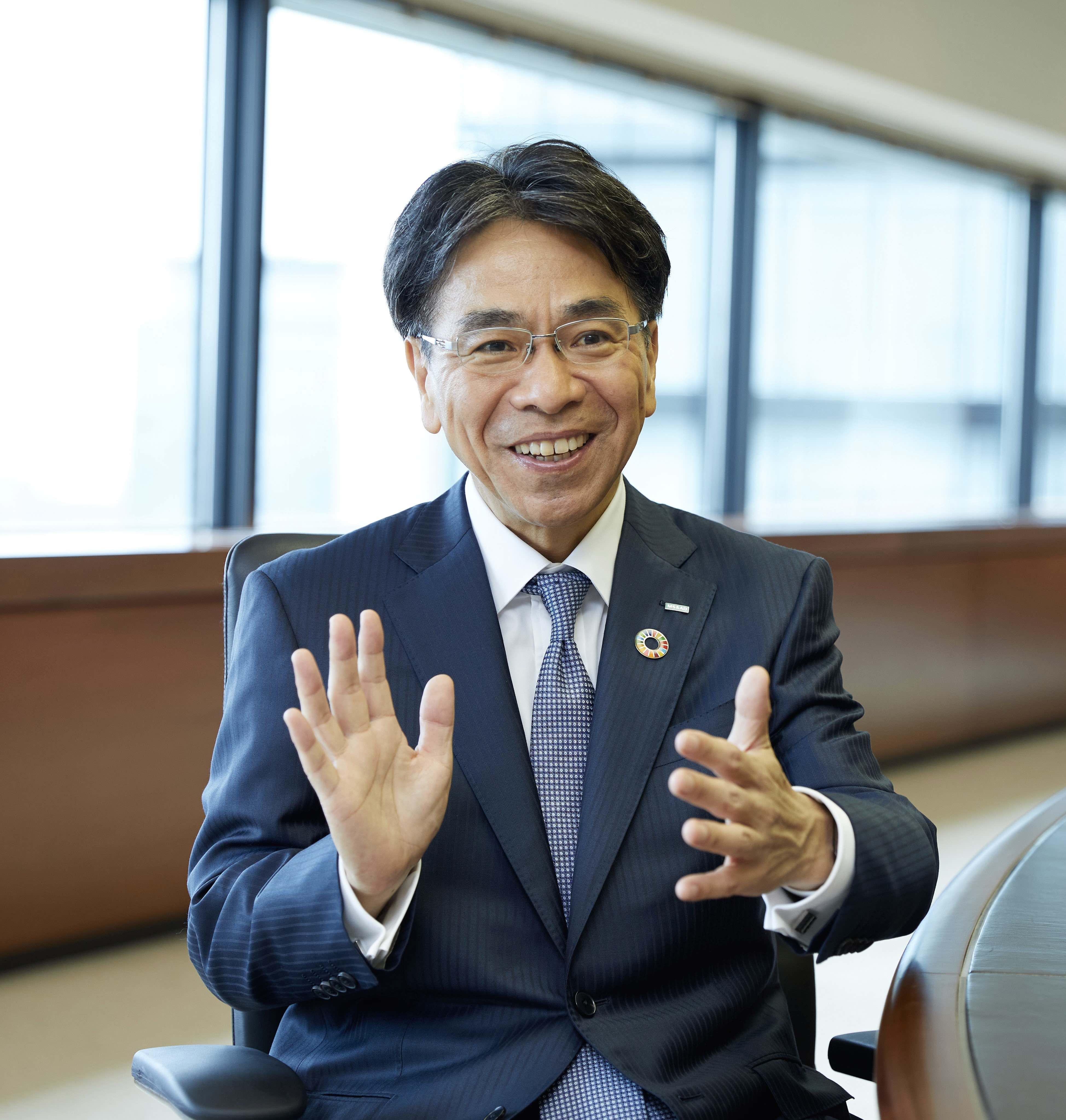 Tetsuji Higuchi, Representative Director, Executive Vice President, Chief Financial Officer at MS&AD